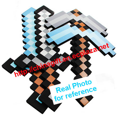 minecraft how to build a axe